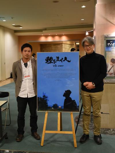 ⑦竹内監督と司会の高橋剣さん